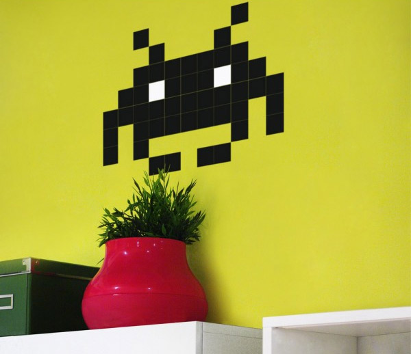 sticker-space-invaders