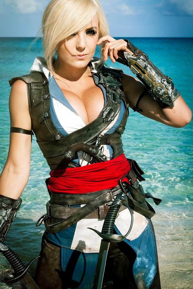 Cosplay Jessica Nigri Assassin's Creed