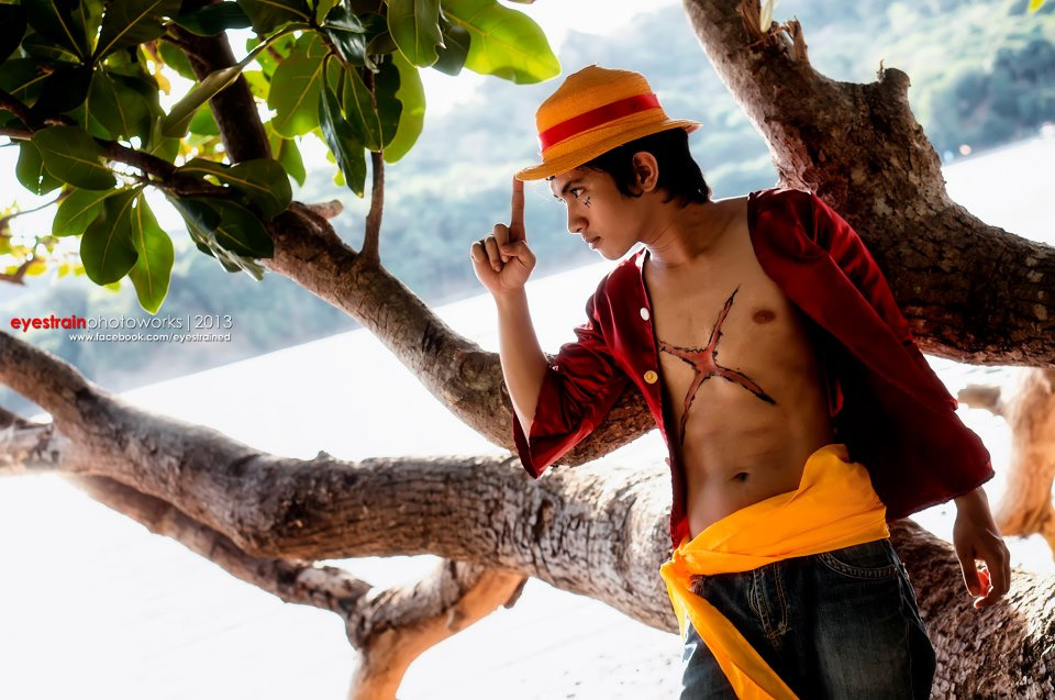 Cosplay Luffy