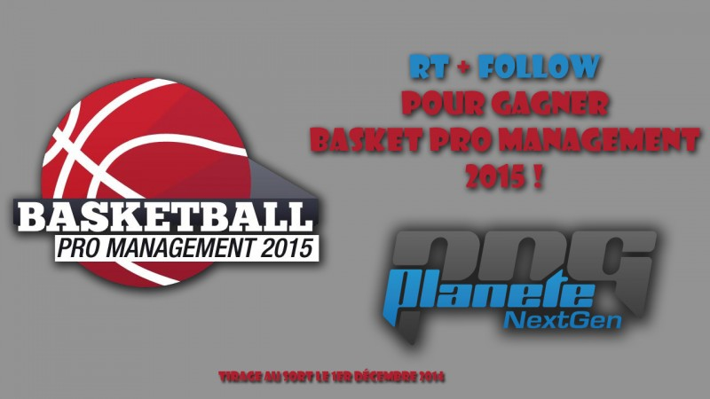 Concours basketball pro management 2015
