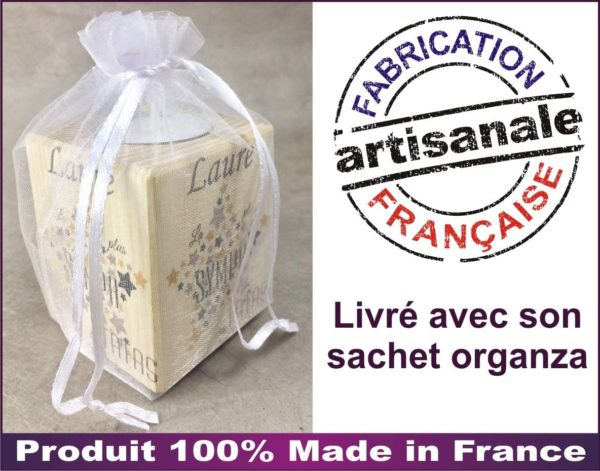 Bougie personnalisée Super Atsem made in france